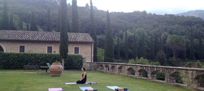 Vacare reis Italie Umbrie yoga - Giotto Cultuurprojecten