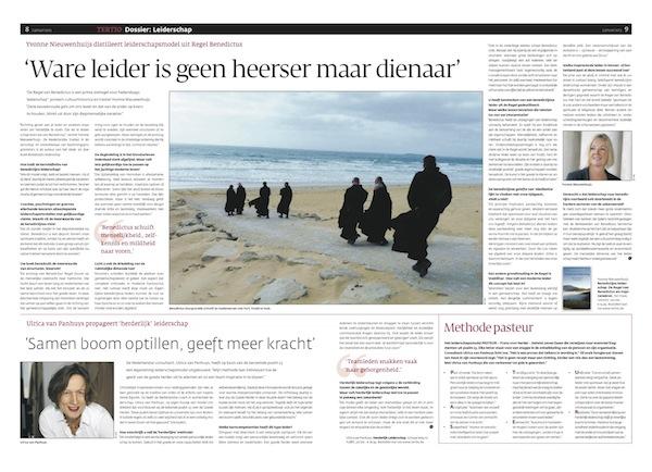 Ware leider is geen heerser maar dienaar - Tertio - januari 2013 -Yvonne Nieuwenhuijs