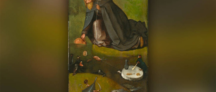 Woestijnvader op nieuw ontdekte Jeroen Bosch