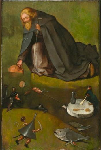 Jeroen Bosch de eerste woestijnvader Giotto Cultuurprojecten