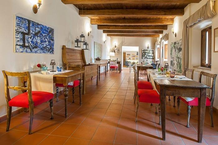 Benedictijner klooster Valnerina restaurant - Giotto Cultuurprojecten